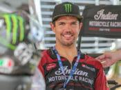 You can help injured flat tracker Brad Baker
