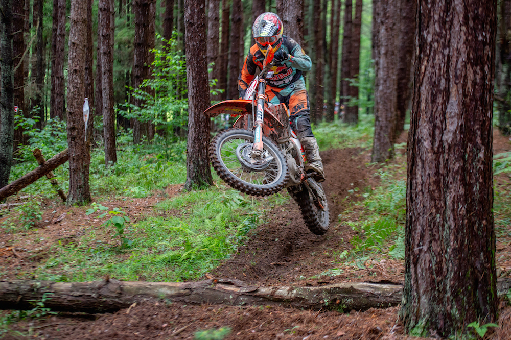 Josh Toth was the overall winner at the Rattlesnake Enduro in Pennsylvania. Photo: Darin Chapman
