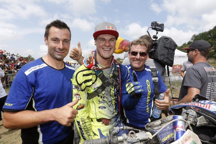 Wade Young wins Red Bull Romaniacs 2018