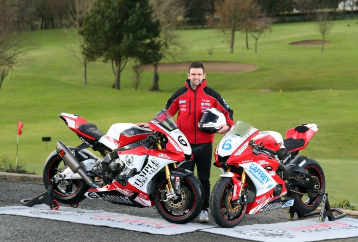 William Dunlop Killed in Skerries 100 Crash Isle of Man TT press event