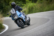 The BMW C400X is scheduled to start arriving in the U.S. in December.