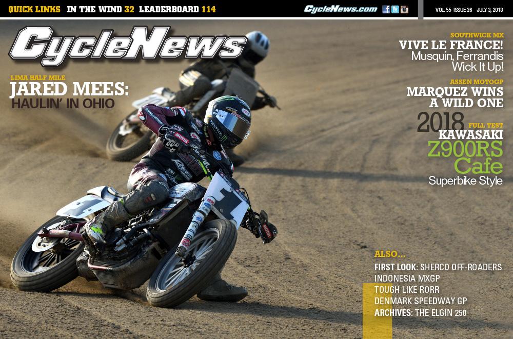 Cycle News magazine #26, 2018