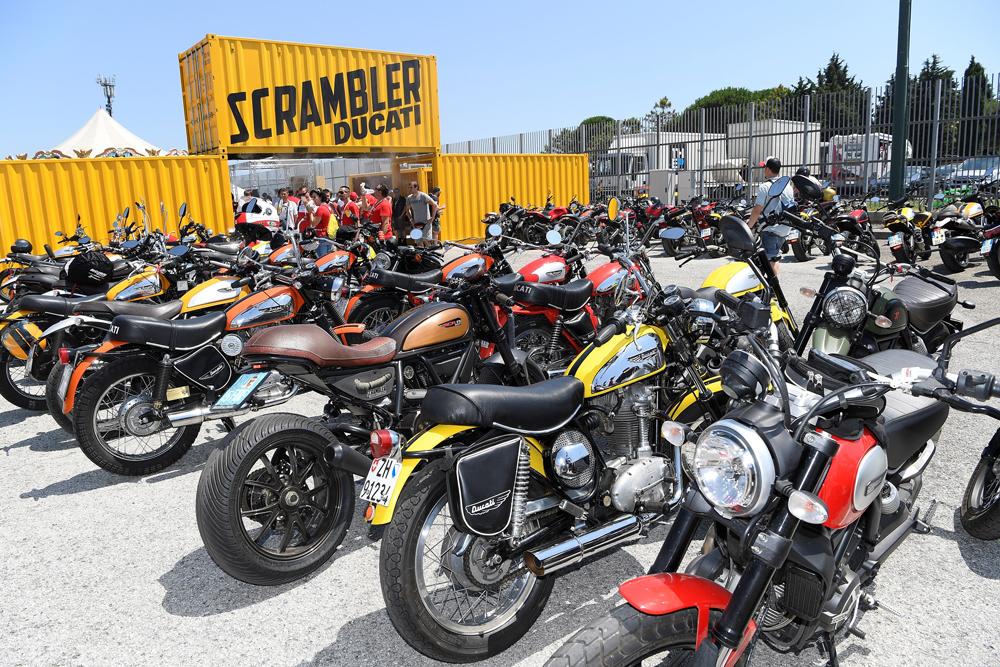 Ducati's Scrambler scene at the Scrambler Village