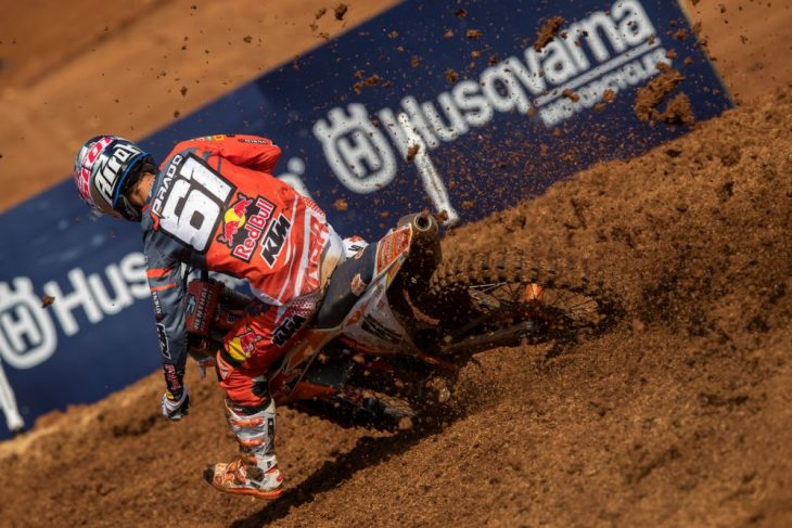 Jorge Prado has caught Pauls Jonass in the MX2 Championship after winning in Indonesia.