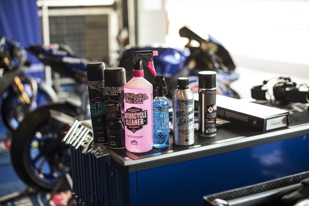 Based in Poole, England, Muc-Off has been formulating innovative bike care products since 1991.