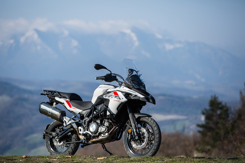 Benelli's new twin-cylinder 500cc parallel-twin adventure tourer is developed in Italy but built in China by owner Qianjiang/QJ.