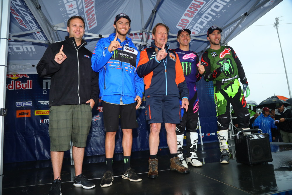 2018 Team USA Motocross of Nations Team