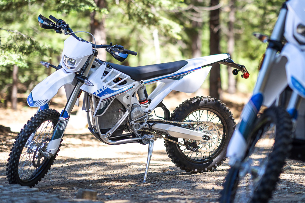 Alta keeps their motorcycle looking, well, like motorcycles, but you can certainly tell that something is different.