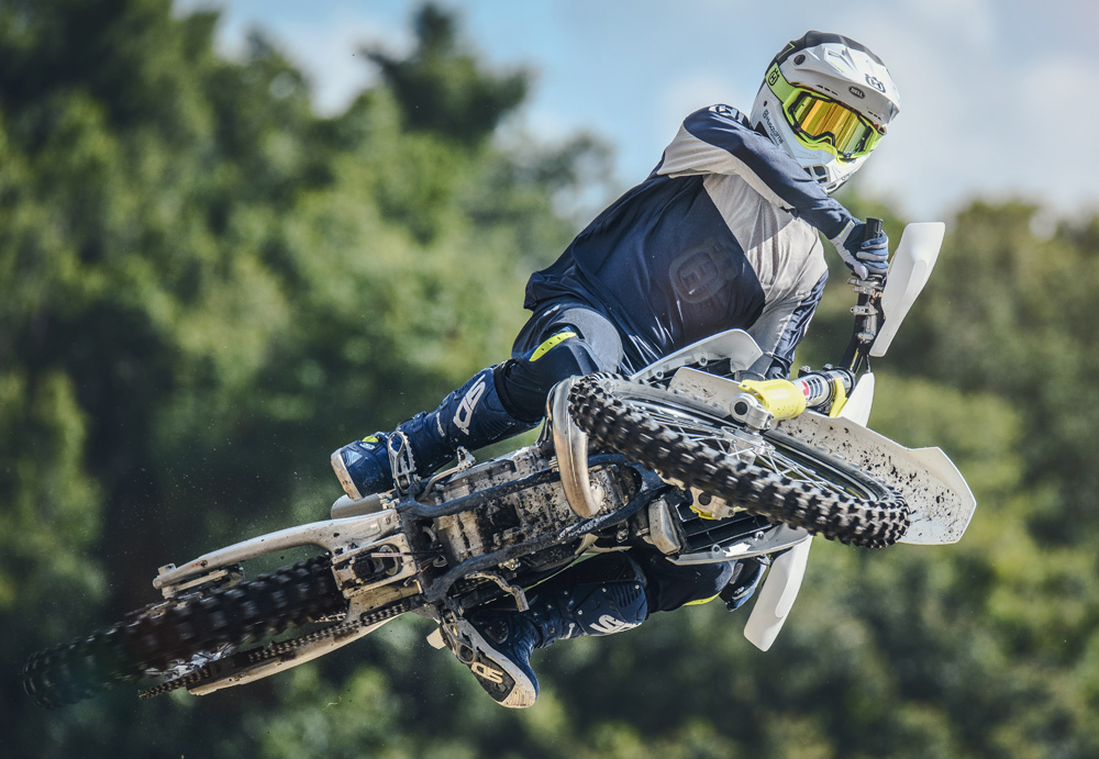 The latest 125cc two-stroke motocrosser from Husqvarna, the TC 125, is fun, lightweight and fast.