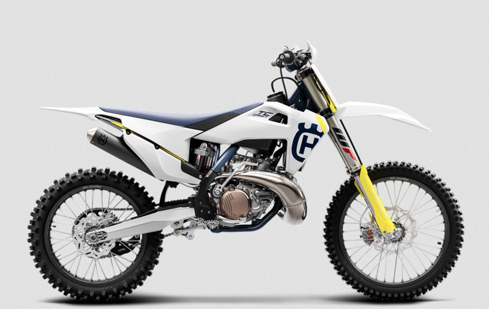Husqvarna's new TC 250 two-stroke MXer is proof positive that two-strokes are alive and well