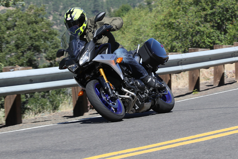 Want to cover big miles but still need a touch of sportiness in your life? Then you must check out the new Yamaha Tracer 900 GT