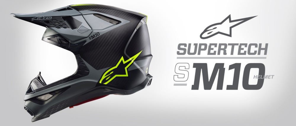Alpinestars Supertech M10 MX Helmet