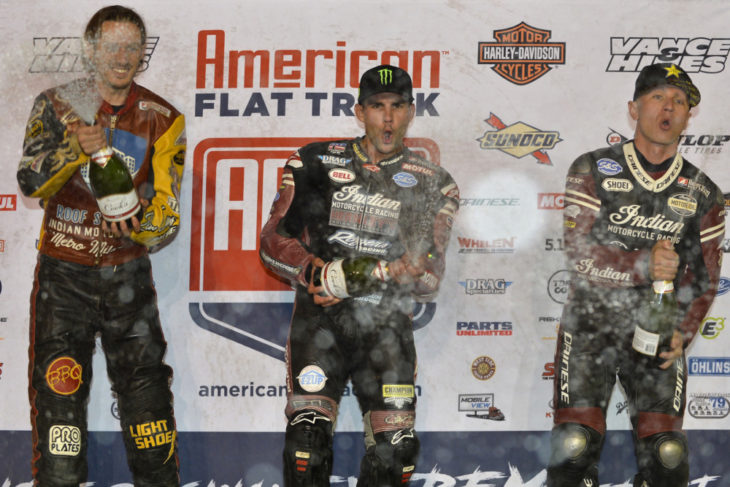Jared Mees won the Black Hills Half Mile at Sturgis.