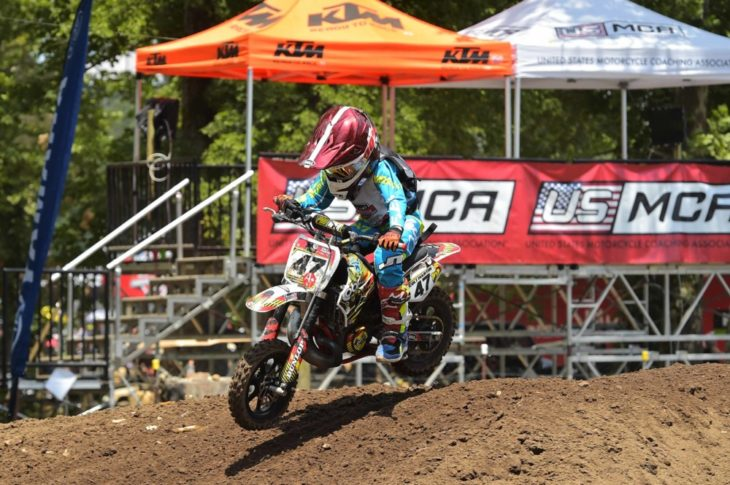 Colt Martin won the 51cc (4-6) Special Limited class at Loretta Lynn's.