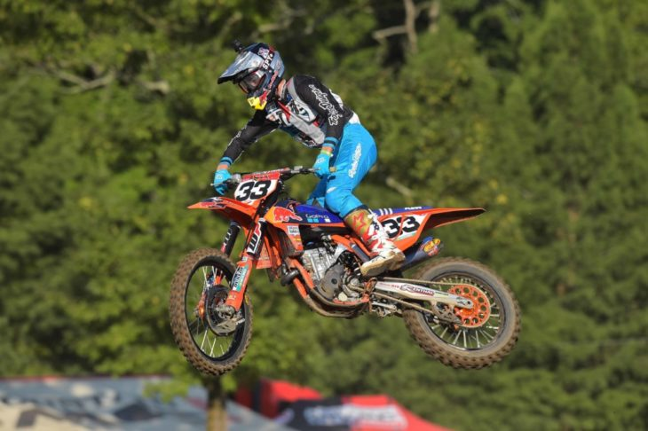 Derek Drake won two titles at Loretta Lynn MX 2018