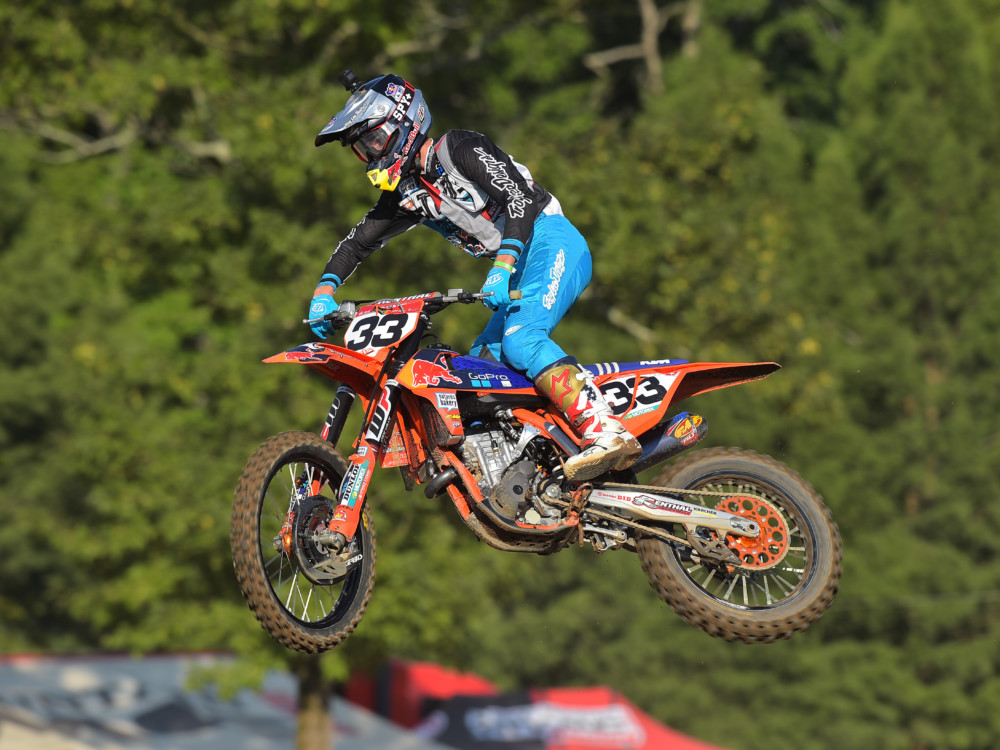 Derek Drake was the top rider at Loretta Lynn's 2018