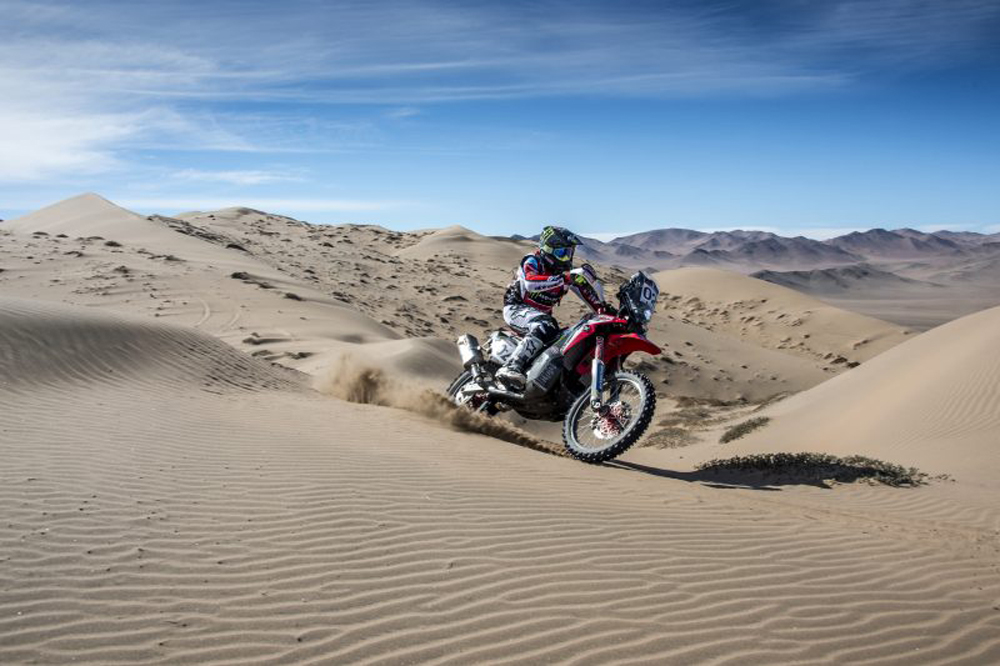 Monster Energy Honda Team Heads to Argentina After Success in Atacama