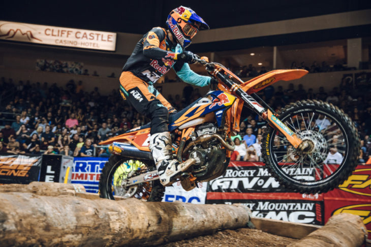 Cody Webb 2018 Prescott Valley EnduroCross