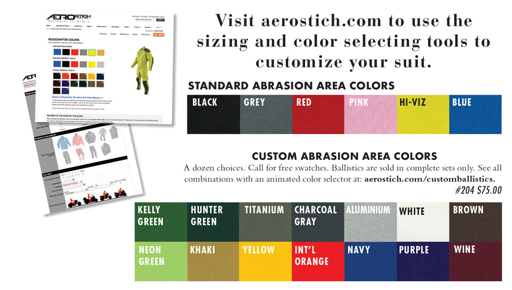 Aerostich R-3: New Color Options - Cycle News