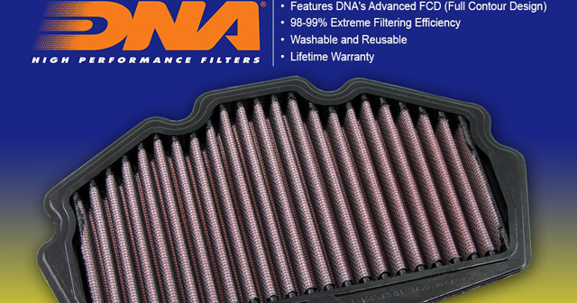 Dna Air Filters Comes To The Usa Cycle News