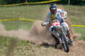 Josh Strang en route to the overall win at the Wade Farms Sprint Enduro in Indiana.