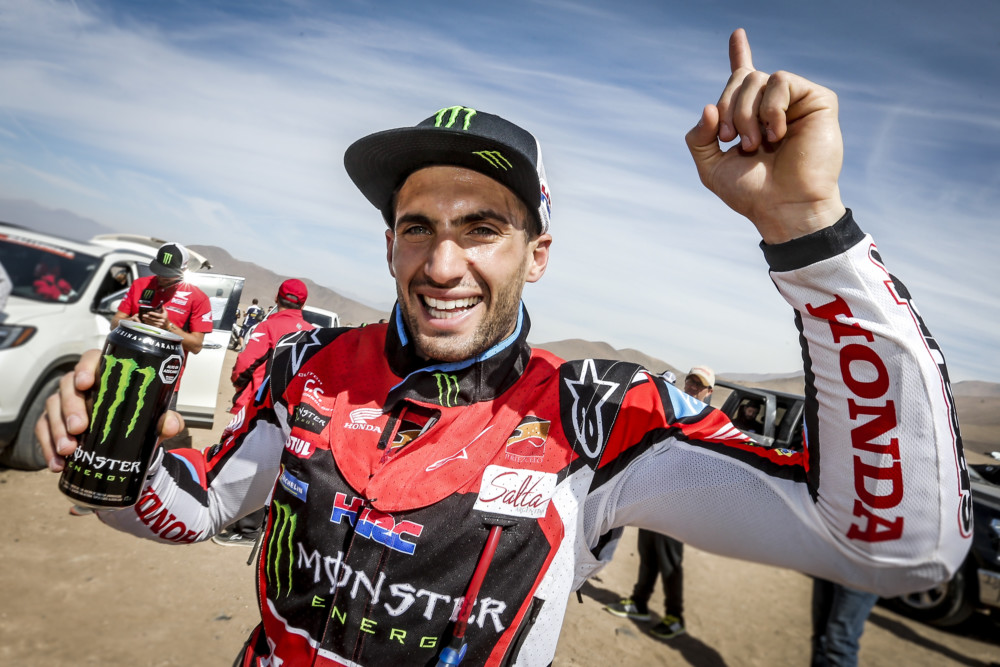 Kevin Benavides wins the 2018 Atacama Rally.