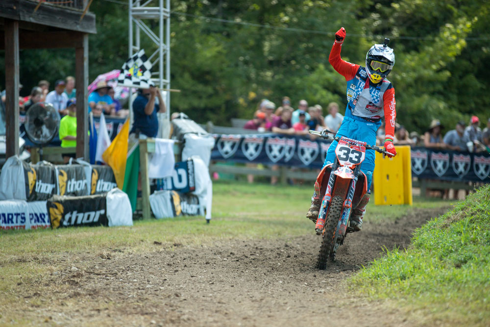 Derek Drake earned the AMA's Nicky Hayden Motocross Horizon Award with wins in the Open Pro Sport and 250 A classes.