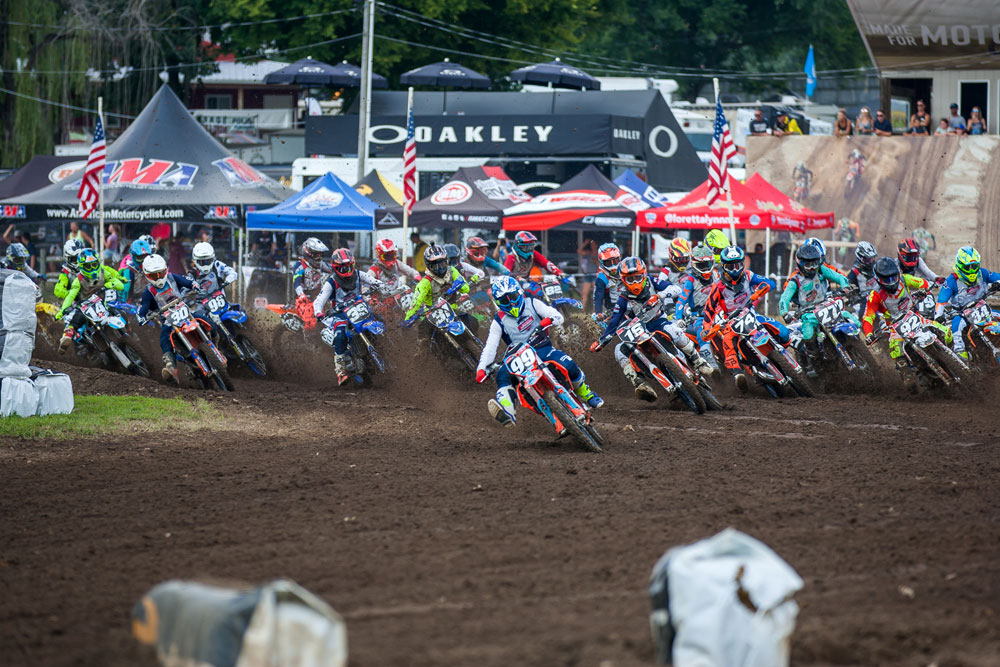 Indiana's Luke Fineis won both of his 250 C classes and four of six total motos at Loretta Lynn's.