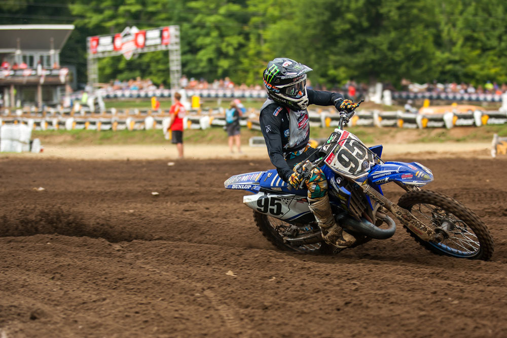 Star Racing Yamaha prospect Ty Masterpool won both of his 125 Schoolboy classes.