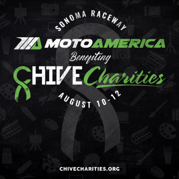 MotoAmerica And Chive Charities To Raise Money