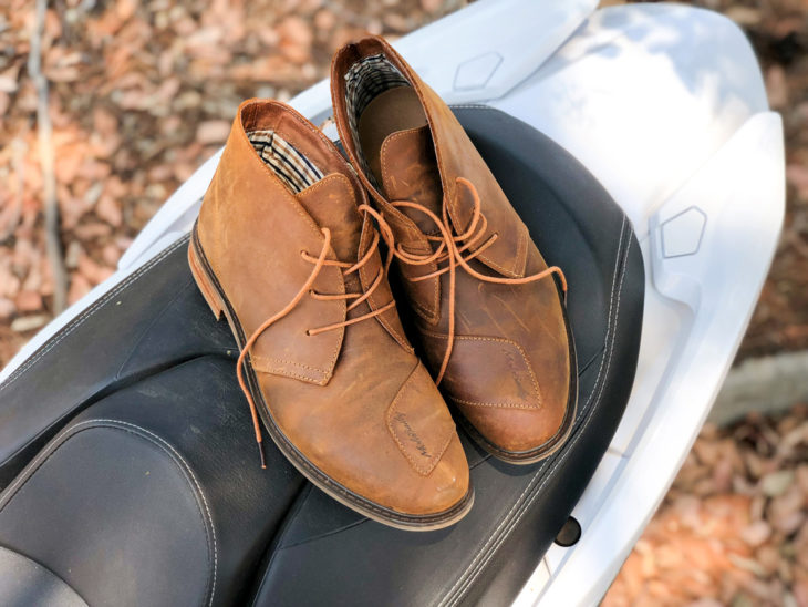 The MotoBailey boots are a good choice for those days when you have a lot of walking or restaurant stops in between casual rides. Pictured here are the LaRyders.