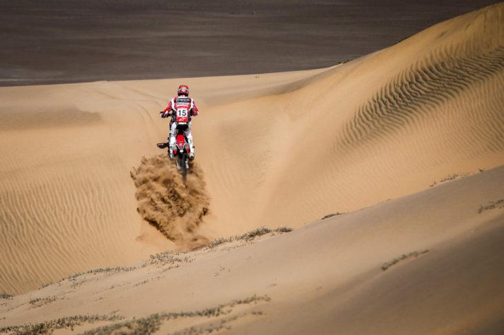 Ricky Brabec finishes ninth at the Atacama Rally.