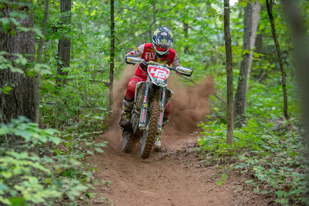 Thad Duvall wins Grassman National Enduro.