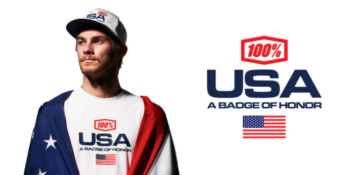 100% Introduces USA Limited Edition Capsule