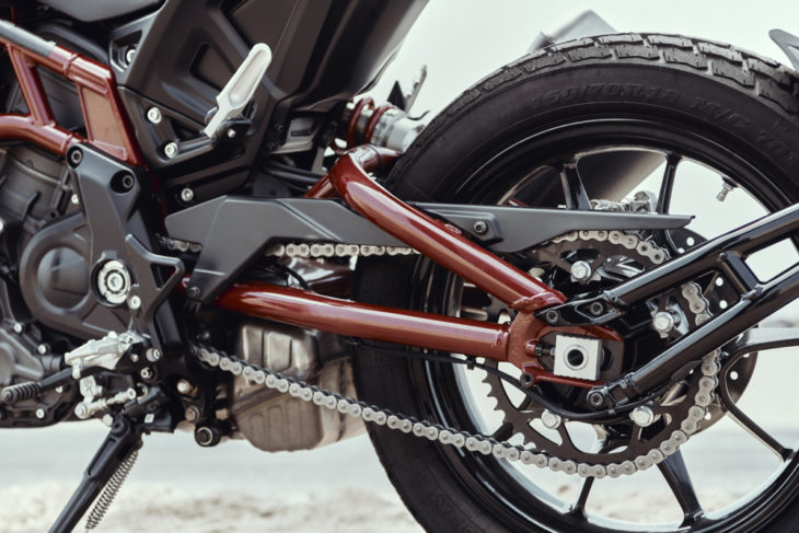 2019 Indian FTR1200 and FTR1200 S First Look swingarm