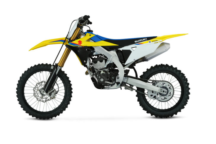 All-new plastic for the 2019 Suzuki RM-Z250.
