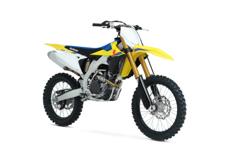 The all-new Suzuki RM-Z250 for 2019