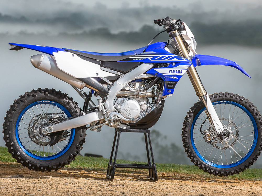 The all-new 2019 Yamaha WR45-F