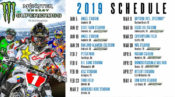 2019 Supercross schedule
