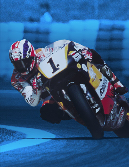 500cc World Champion Mick Doohan