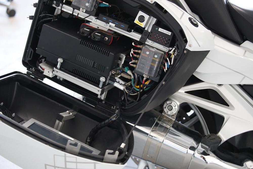 BMW Motorrad Autonomous Driving BMW R 1200 GS