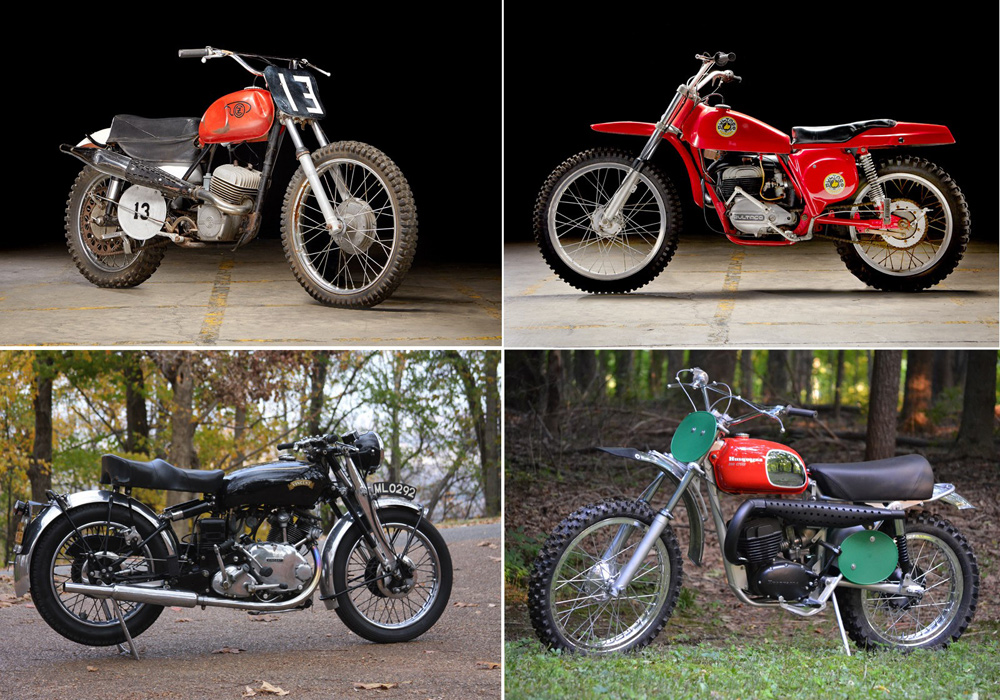 Celebrity motorcycles and historical gems gather for inaugural October sale at Barber Motorsports Museum