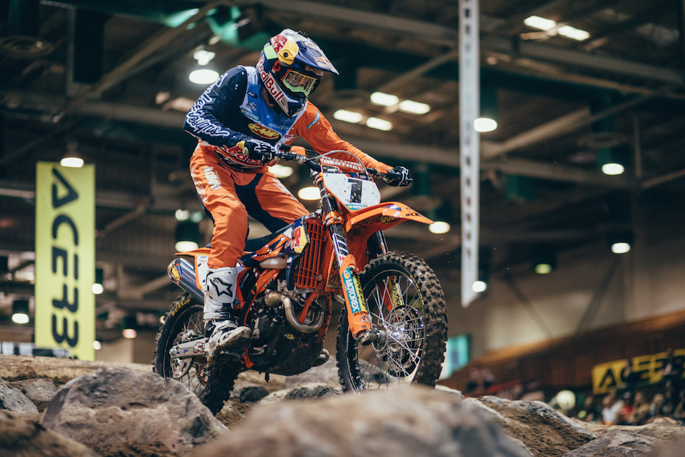 Cody Webb won the Reno EnduroCross.