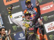 Thomas Covington to the MX2-class win at the MXGP of Turkey