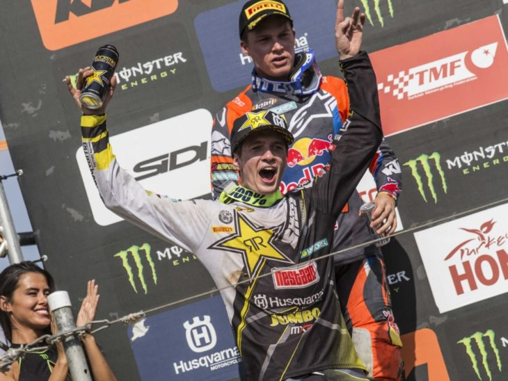Thomas Covington to the MX2-class win at the MXGP of Turkey
