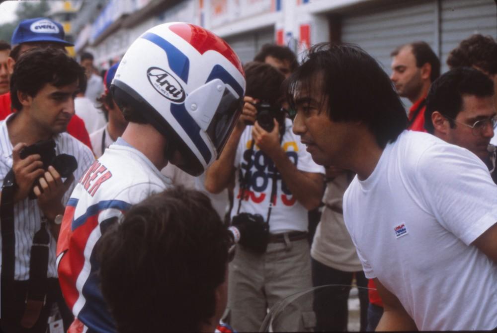 Freddie Spencer and Erv Kanemoto