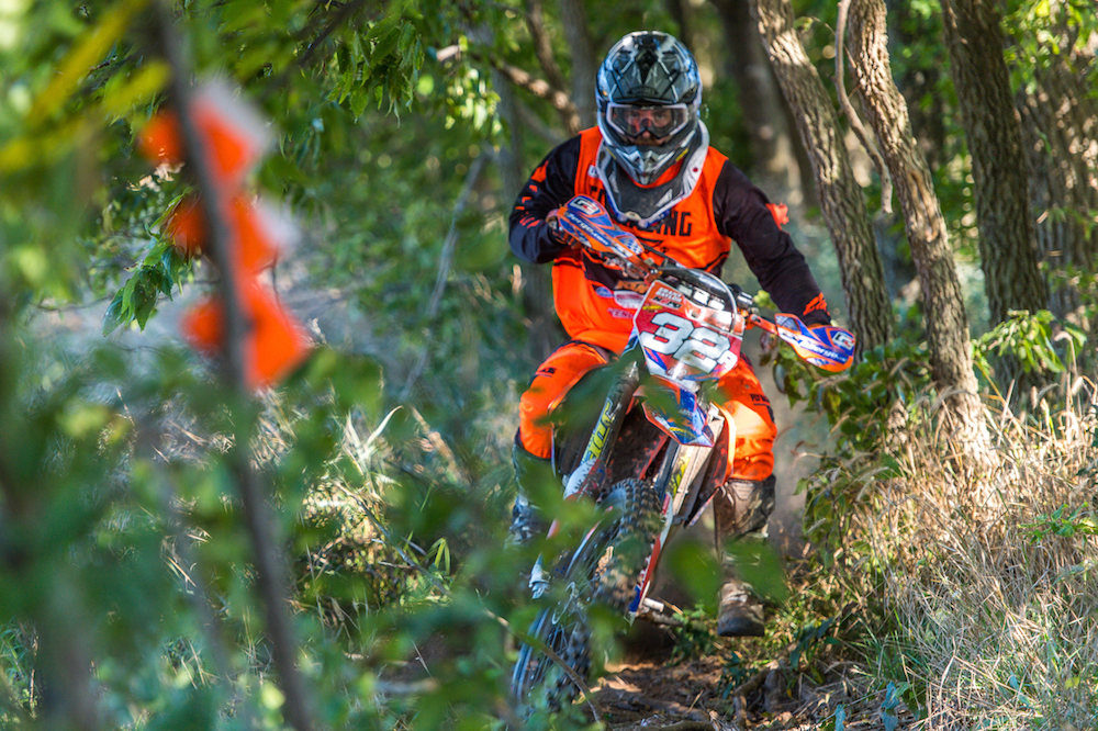 Grant Baylor won the Muddobbers National Enduro.