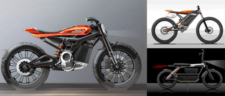 Harley plans to create a lineup of electric motorcycles that are lighter, smaller.