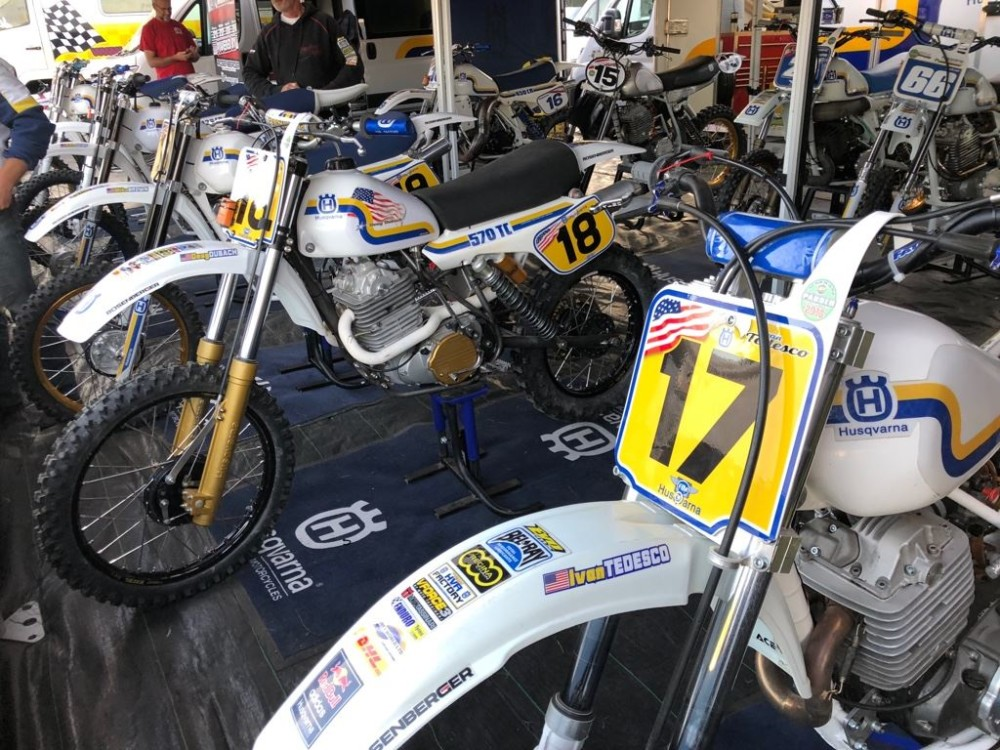 Husqvarna Success at 2018 Veterans Motocross des Nations