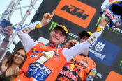Jeffrey Herlings wins the race and is the new master of the MXGP class
